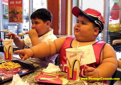 overweight and fat children