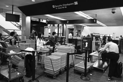 tray TSA Airport Security Germs
